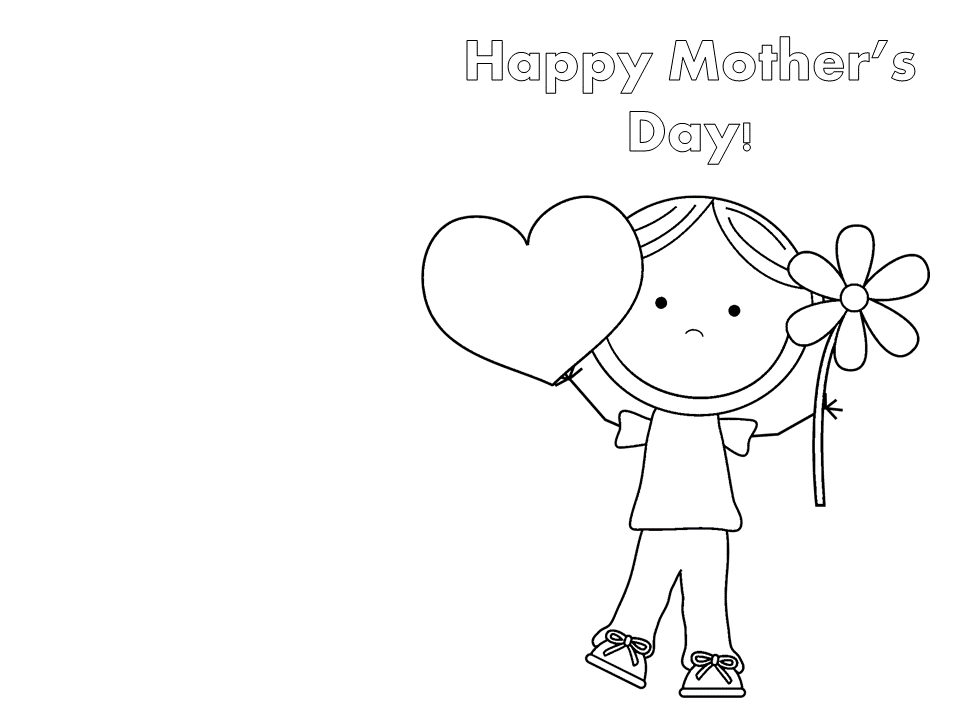 Mother's Day Homemade Card | MyTeachingStation.com