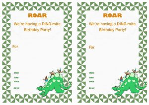 Dinosaur Train Invitations Birthday Free