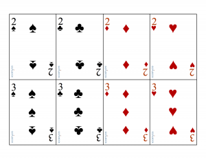 Oversized Playing Cards Printable