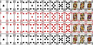 Printable Deck of Playing Cards