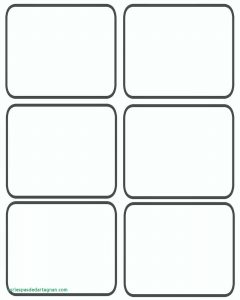 Template for Playing Cards Free Printable