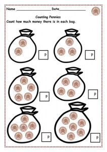 Counting Money Practice Worksheets