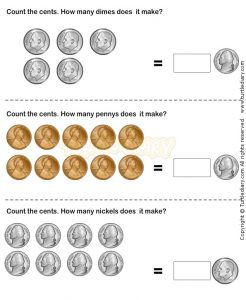 Free Printable Coin Worksheets