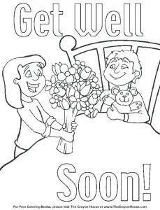 Free Printable Get Well Cards To Color
