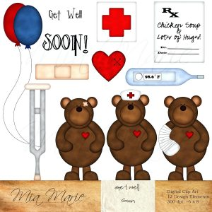 Funny Printable Get Well Soon Cards Free