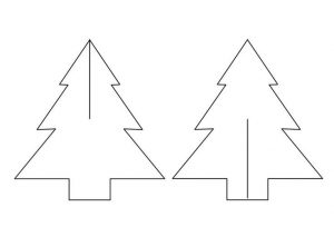 Christmas Tree Paper Template