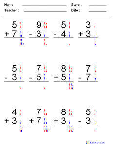 Addition and Subtraction Worksheets for Grade 3