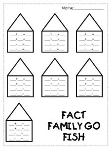 Blank Addition and Subtraction Worksheets