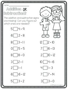 Mental Strategies for Addition and Subtraction Worksheets