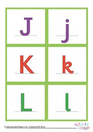 Printable Uppercase Alphabet Flash Cards