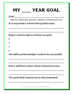 Goal Setting In Addiction Recovery Worksheets