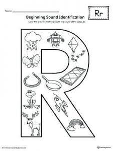 Letter R Recognition Worksheets