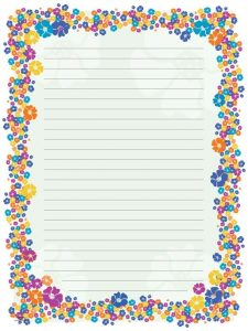 Blank Paper for Letter Writing