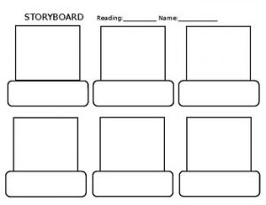 Christmas Children's Book Storyboard Template