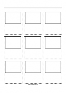 Easter Storyboard Template