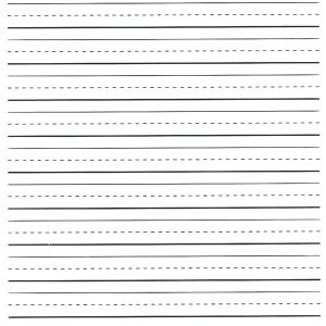 Elementary Letter Writing Paper