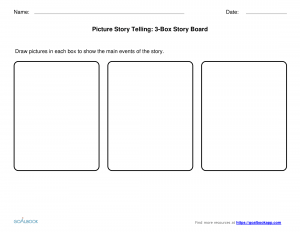Event Storyboard Template