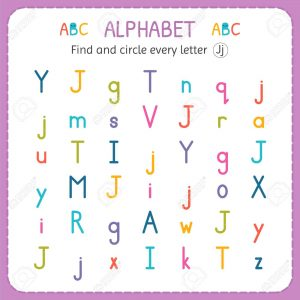 Find The Letter J Worksheet
