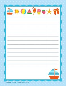 Free Letter Writing Paper