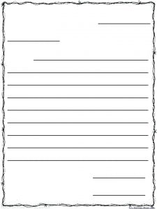 Free Printable Friendly Letter Writing Paper