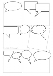 Make Your Own Comic Strip Template