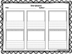 Short Story Film Video Storyboard Template