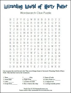 Harry Potter Word Search Pro