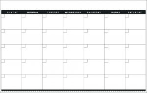 Free Monthly Bill Pay Calendar Template Download