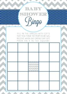 Baby Bingo Blank