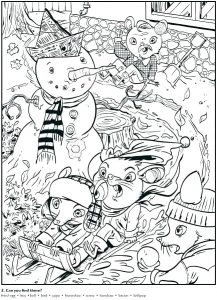 Free Printable Christmas Hidden Pictures for Adults