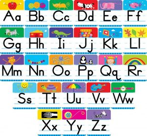 Alphabet Chart Upper and Lowercase