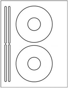 CD and DVD Labels Templates