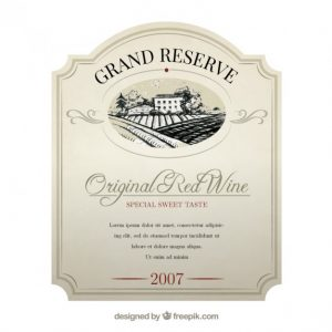 Images of Wine Label Template