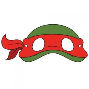 Ninja Turtle Eye Mask Template