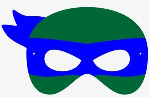 Ninja Turtle Felt Mask Template