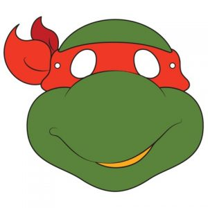 Ninja Turtle Mask Template