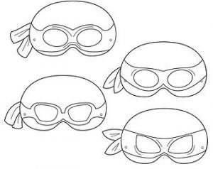 Ninja Turtle Mask Template Free