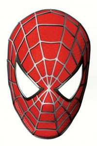 Spiderman Template Mask