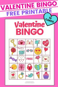 Valentine's Day Bingo Printable