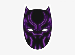 Black Panther Mask Template