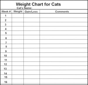 Charts for Weight Loss free Printable