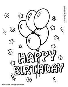 Free Birthday Printable Cards for Kids