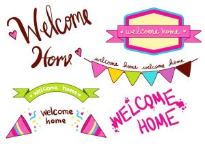 Free Printable Banners Welcome Home