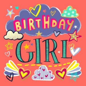 Free Printable Birthday Cards for Girls