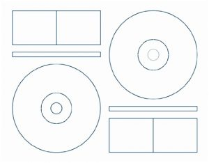 Free-Printable CD Labels Templates