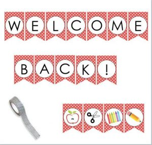 Free Printable Welcome Back Banner Template