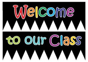Free Printable Welcome Banner for Classroom