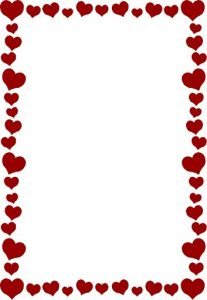 Heart Page Border