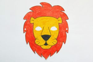 Lion Mask Template Free
