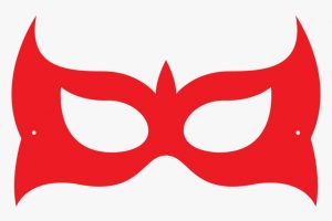 Masquerade Eye Mask Template
